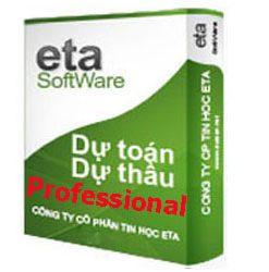 Phần mềm dự toán Eta Professional