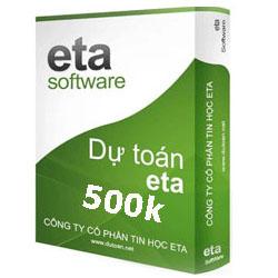 Phần mềm dự toán Eta Online